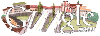 Google Logo: Jože Plečnik's 140th Birthday, Slovene architect
